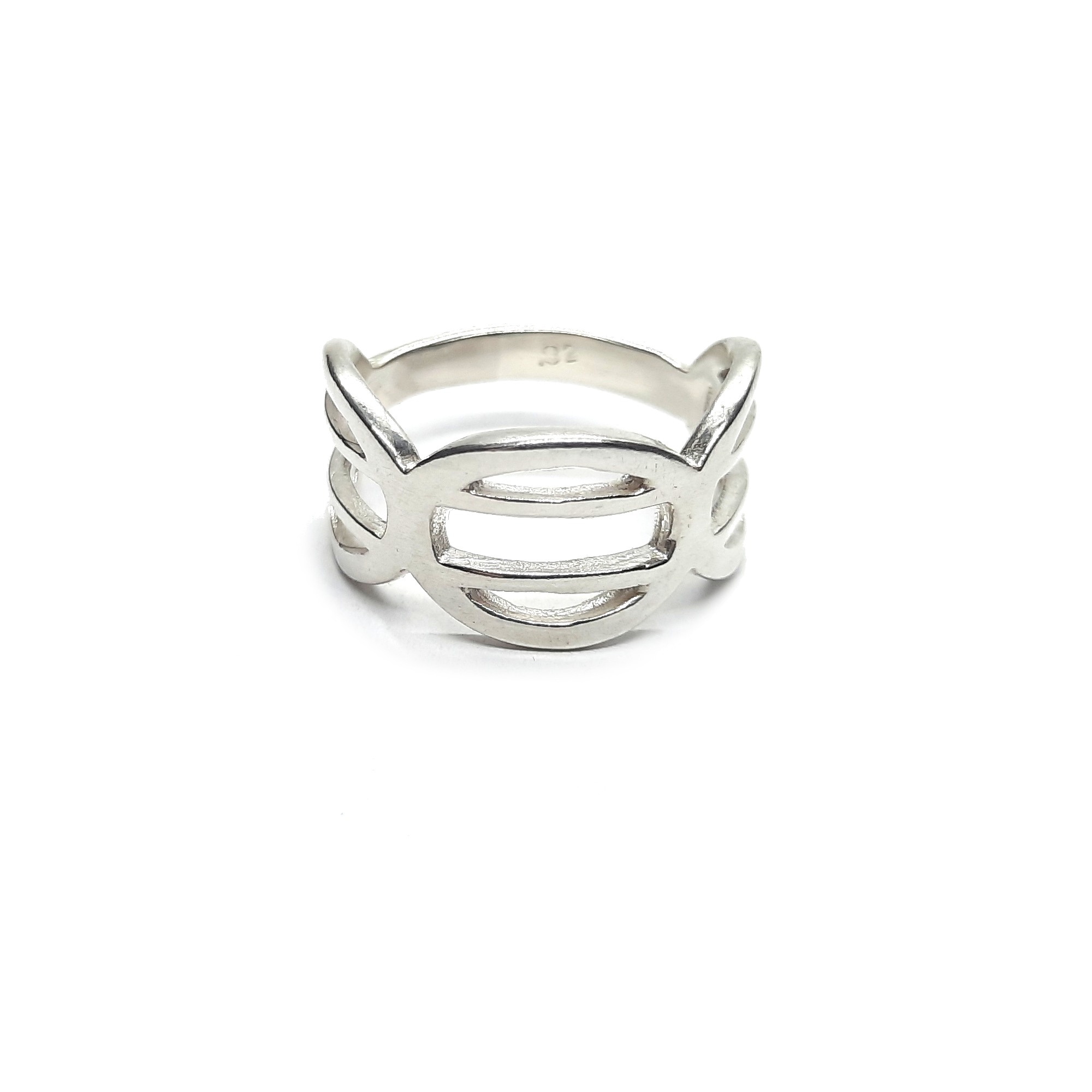 Silver ring - R002244